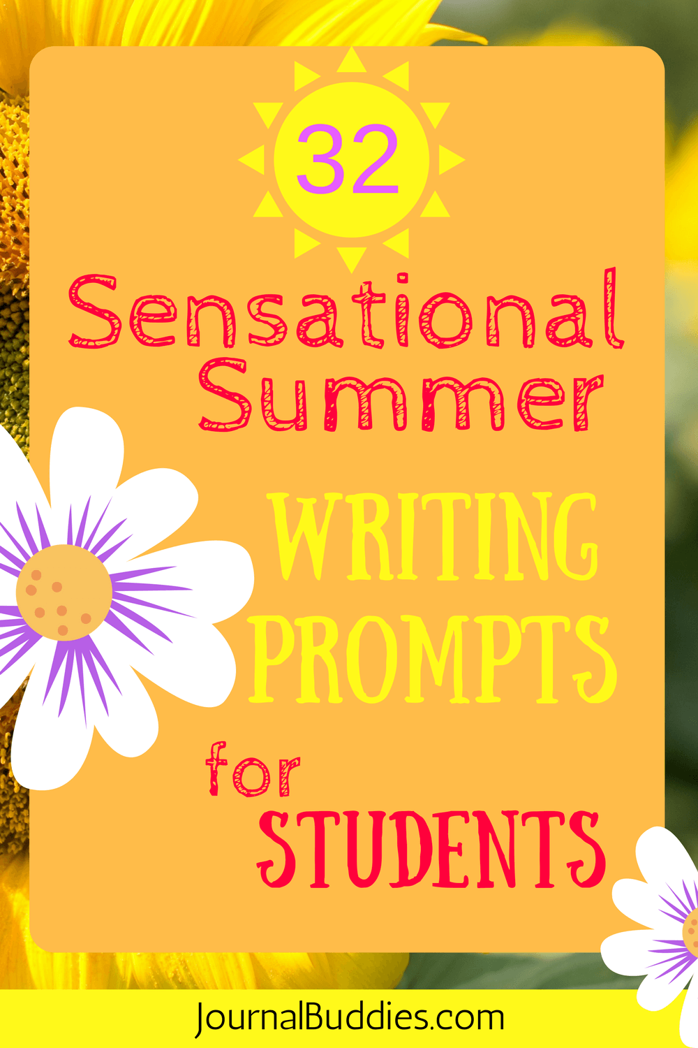Sensational Summer Writing Prompts