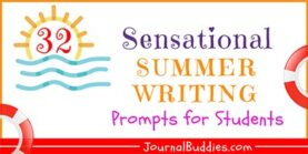 32 Sensational Summer Writing Prompts for Students
