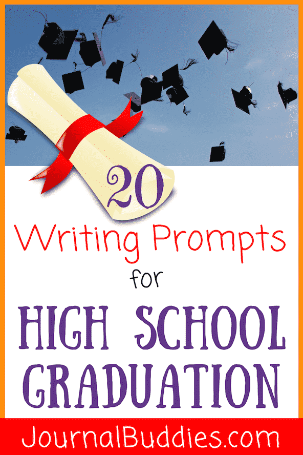 As graduation approaches, it's an ideal time to ask your high school seniors to write in their journals or complete an essay.