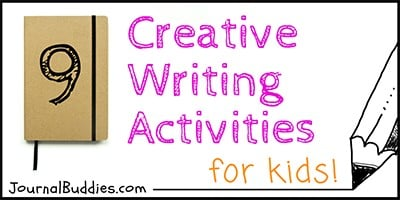 Kids Creative Writing Activites