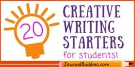 Look at These 40 Creative Writing Starters