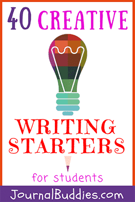 With so many starters to choose from and 4 simple tips to choose the best one, your students are sure to find a few prompts that will get their creative writing juices flowing!