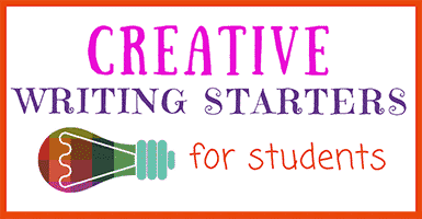 Creative Writing Starters for Students
