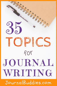 This all new set of 35 topics for journal writing is designed to serve anyone from age 12 and up into adulthood - suitable for use in your middle school, high school, or post-secondary classroom, or simply for your own personal use.