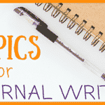 Journal Writing Topics