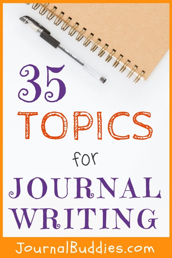 Topics for Journal Writing