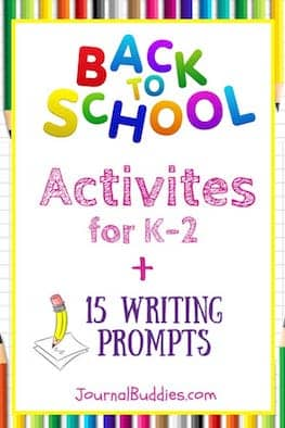 Going back to school is both an exciting and a nerve-wracking time for young students in kindergarten through second grade, so it's always good to have fun introductory activities scheduled that will help students feel welcome and comfortable in the classroom.