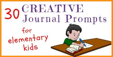 30 Creative Journal Prompts for Elementary Kids