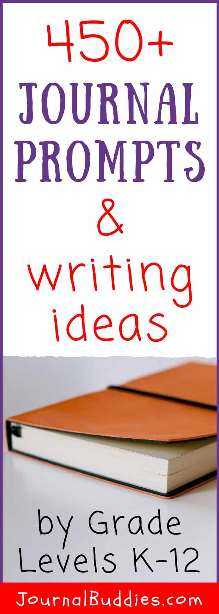 Writing Ideas and Journal Topics by Grade Level for Students