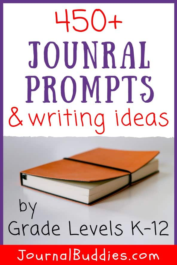 Writing Topics and Journal Starters for Students by Grade Level