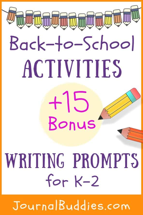 Back to School Activities for Grades K-2
