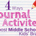 Journal Activities for Middle School