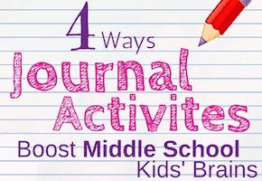 Journal Activities for Middle School