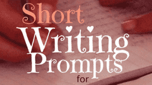 30 Short Writing Prompts to Use with Young Students