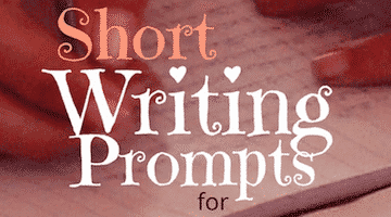 Short Writing Prompts for Elementary Kids