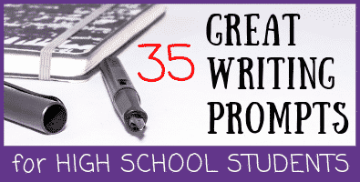 35 Great Writing Prompts