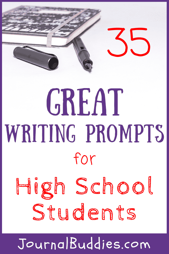 Use this all-new set of great writing prompts for high school students to help your class unravel and clarify their most important ideas!