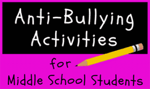 Use these activities to help kick off this year's anti-bullying campaign. Each anti-bullying activity is designed to help students find more to love about themselves—and to learn how to respect the differences they may see in others.