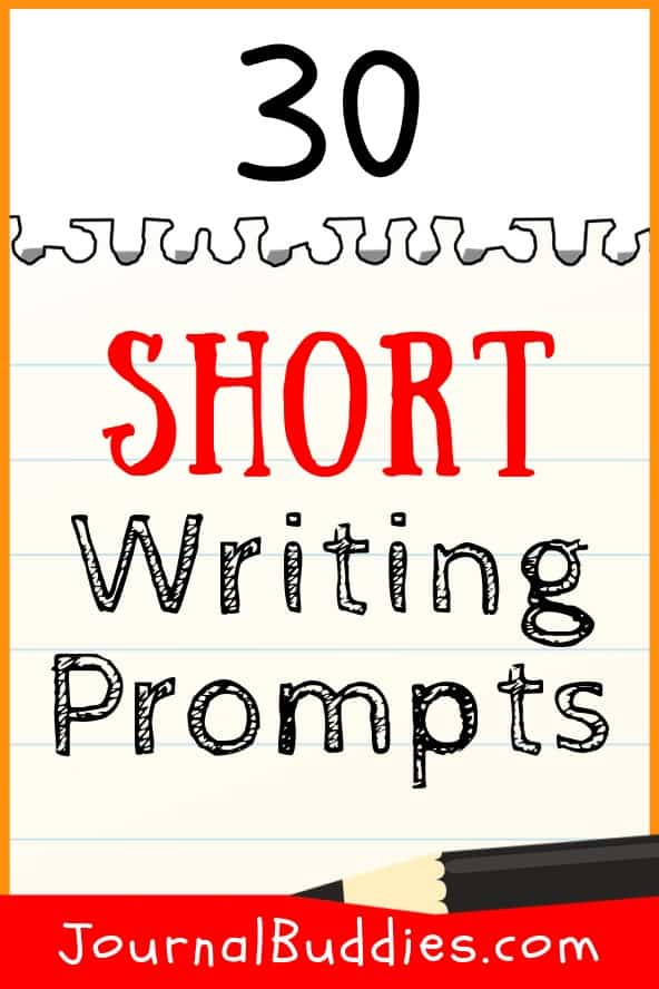 Short Writing Starters for Elementary Students