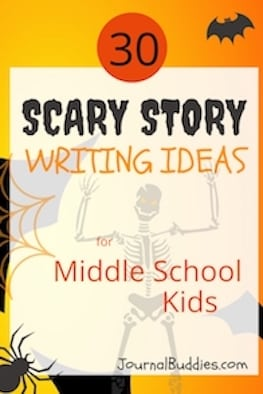 Use these 30 writing ideas to encourage your students to write a scary story for an assignment in your class is a great way to introduce the horror genre to them while also focusing on their creative writing skills.