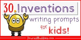 30 Inventions Writing Prompts for Kids