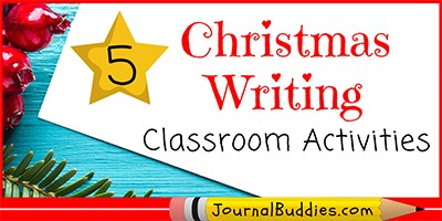 Christmas Journaling Prompts for the Classroom