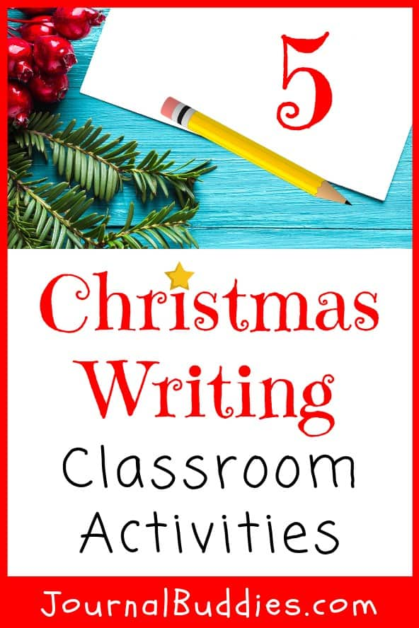 Christmas Writing Classroom Activities and Journal Ideas for Kids
