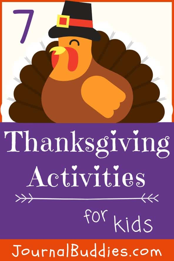 Writing Ideas and Activities for Thanksgiving