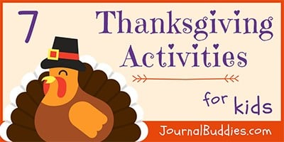 Thanksgiving Writing Prompts and Activities for Kids