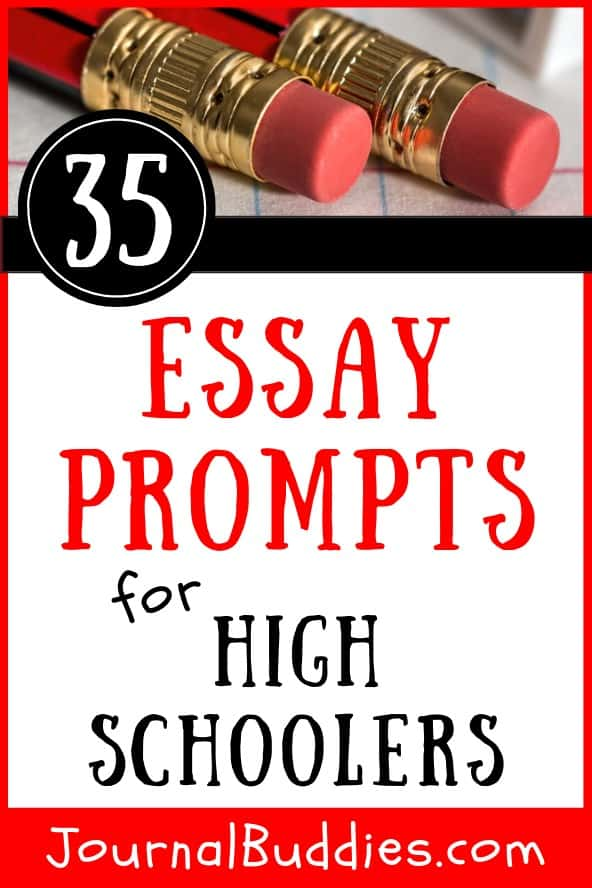 Writing prompts for essays