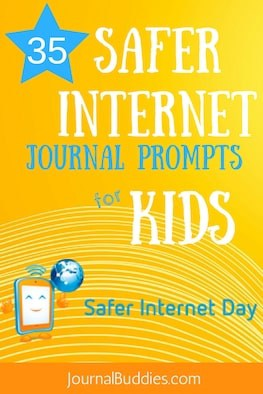 See these all-new Safer Internet Day journal prompts encourage students to think more critically about what they're doing online—including topics like the dangers of cyber-bullying, the permanency of all things posted, and the validity of various Internet sources.