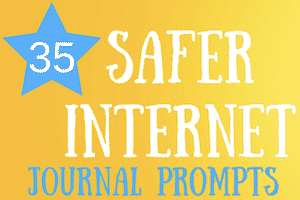 35 Safer Internet Day Journal Prompts for Kids