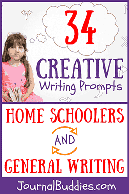 Let this list of creative writing prompts inspire new ideas for fictional stories, as well as creative angles for journal entries and nonfiction essays for students, home school students, and kids in general.