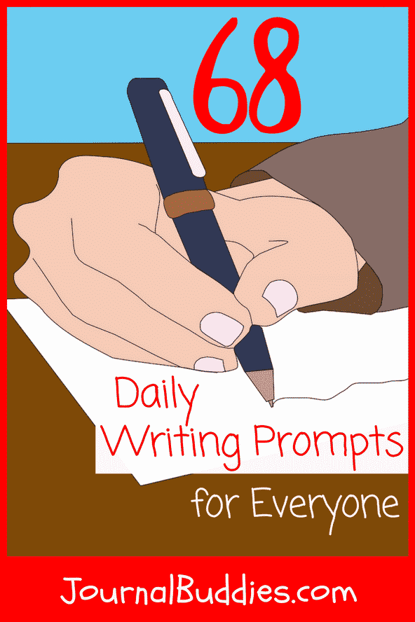 Daily Writing Prompts & Ideas for Everyone
