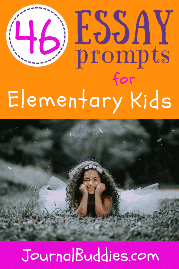 Use these essay prompts for elementary students to help kids get better at personal essay writing, learn to use those budding language skills, and express their ideas more effectively!