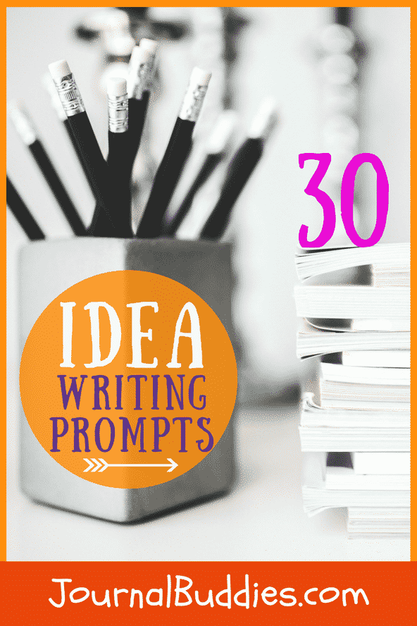"In these 30 new idea writing prompts, suitable for ages 12 to adult, you'll ponder crazy ""what if"" situations, explore fantastical conundrums, and daydream about unbelievable predicaments."