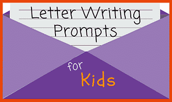 32 Letter Writing Prompts for Kids