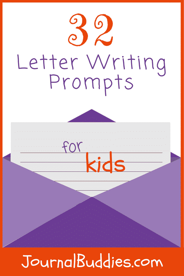 these letter writing prompts for kids begin with a few guiding questions to help students explore