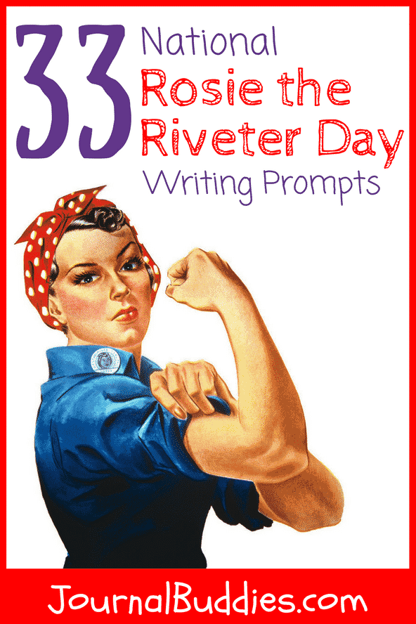 Use these National Rosie the Riveter Day journal prompts to celebrate this important holiday (and to promote women's issues all throughout Women's History Month!). You'll be amazed by all of the incredible ideas your students come up with.