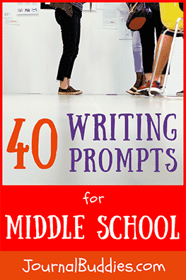 Using writing prompts for middle school students offers a fun, creative way for kids to explore their writing skills and their ability to take thoughts and express them in written form.