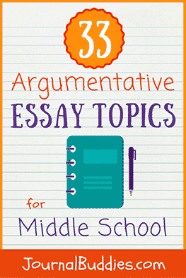 """With these 33 new argumentative essay topics for middle school students, you can help your students learn more about what makes a good argument and how to evaluate and decipher so-called """"evidence."""""""