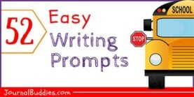 52 Easy Writing Prompts