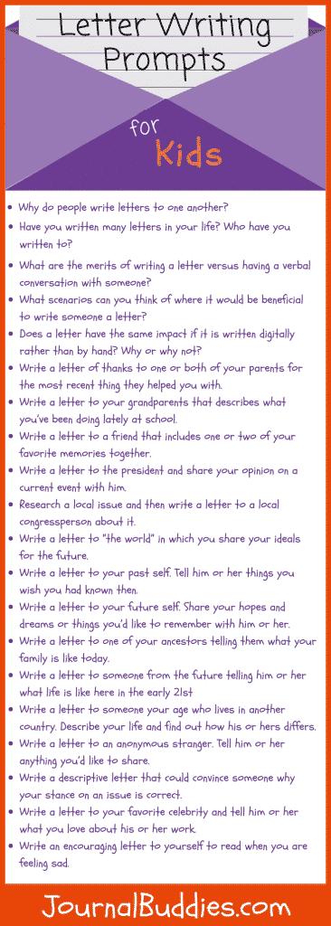 Letter Writing for Kids