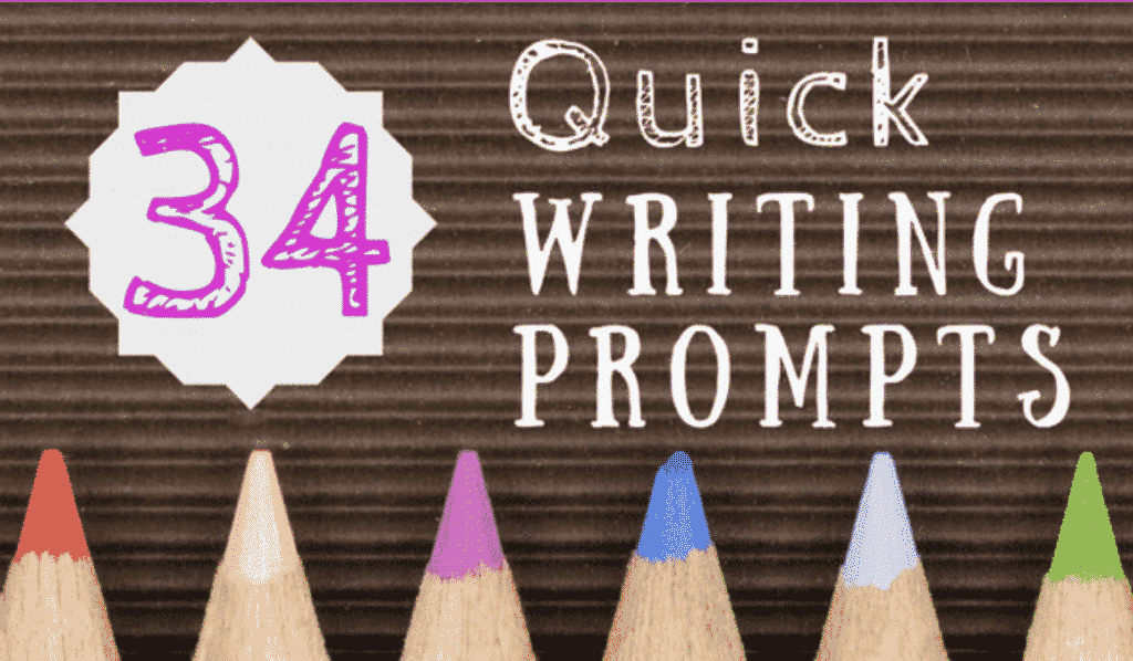 Quick Writing Prompts for Middle School Students!