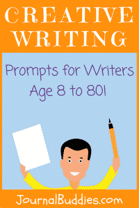 Whether you're eight years old or 80 years old, here are some creative writing prompts that will help you improve your creating writing skills.