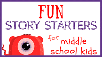 Fun Story Starters for Middle School