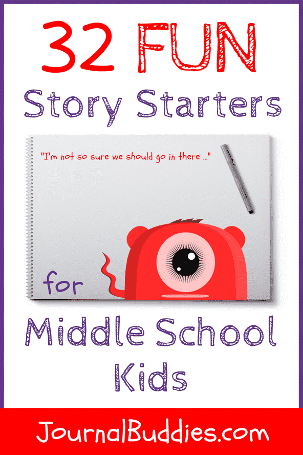 Fun Story Starters to Inspire Middle Schoolers