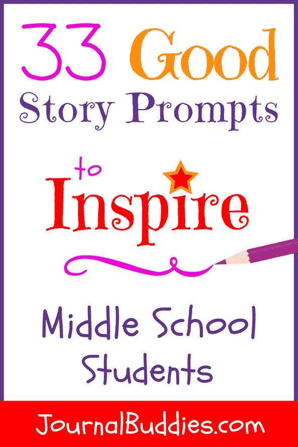 In these 33 good story prompts for middle school students, your class will receive fresh ideas and characters to develop and explore.