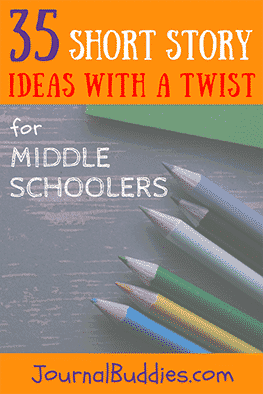 Use these short story ideas with a twist to encourage your middle-schoolers to think outside the box… and to be as creative as they can!
