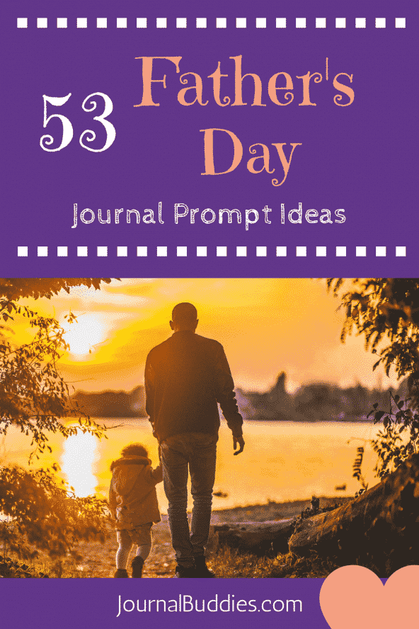 53 Writing Prompts about Father's Day for Kids